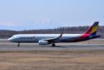 mojioさんが、新千歳空港で撮影したアシアナ航空 A321-231の航空フォト(飛行機 写真・画像)
