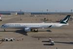 ロボキさんが、中部国際空港で撮影したキャセイパシフィック航空 A350-1041の航空フォト(写真)