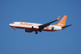神宮寺ももさんが、成田国際空港で撮影したチェジュ航空 737-8ASの航空フォト(写真)