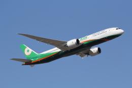 ANA744Foreverさんが、成田国際空港で撮影したエバー航空 787-9の航空フォト(写真)