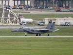しんちゃん007さんが、嘉手納飛行場で撮影したアメリカ空軍 F-15C-39-MC Eagleの航空フォト(写真)
