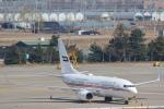安芸あすかさんが、金浦国際空港で撮影したドバイ・ロイヤル・エア・ウィング 737-7E0 BBJの航空フォト(写真)