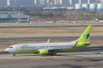 安芸あすかさんが、金浦国際空港で撮影したジンエアー 737-86Nの航空フォト(写真)