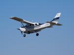 ここはどこ?さんが、札幌飛行場で撮影した共立航空撮影 T206H Turbo Stationair TCの航空フォト(写真)
