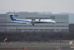 mojioさんが、新千歳空港で撮影したANAウイングス DHC-8-402Q Dash 8の航空フォト(飛行機 写真・画像)