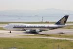 WING_ACEさんが、関西国際空港で撮影したシンガポール航空カーゴ 747-412(BCF)の航空フォト(飛行機 写真・画像)