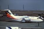 tassさんが、羽田空港で撮影したBAe システムズ BAe-146-100の航空フォト(写真)