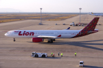 yabyanさんが、中部国際空港で撮影したタイ・ライオン・エア A330-343Xの航空フォト(飛行機 写真・画像)