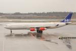 OMAさんが、成田国際空港で撮影したスカンジナビア航空 A340-313Xの航空フォト(写真)