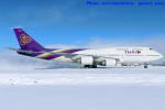 いおりさんが、新千歳空港で撮影したタイ国際航空 747-4D7の航空フォト(写真)