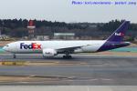 いおりさんが、成田国際空港で撮影したフェデックス・エクスプレス 777-FS2の航空フォト(写真)
