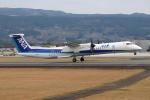 ゆう改めてさんが、熊本空港で撮影したANAウイングス DHC-8-402Q Dash 8の航空フォト(写真)