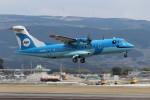 ゆう改めてさんが、熊本空港で撮影した天草エアライン ATR-42-600の航空フォト(写真)