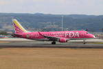 ゆう改めてさんが、熊本空港で撮影したフジドリームエアラインズ ERJ-170-200 (ERJ-175STD)の航空フォト(写真)