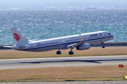 yabyanさんが、中部国際空港で撮影した中国国際航空 A321-232の航空フォト(写真)