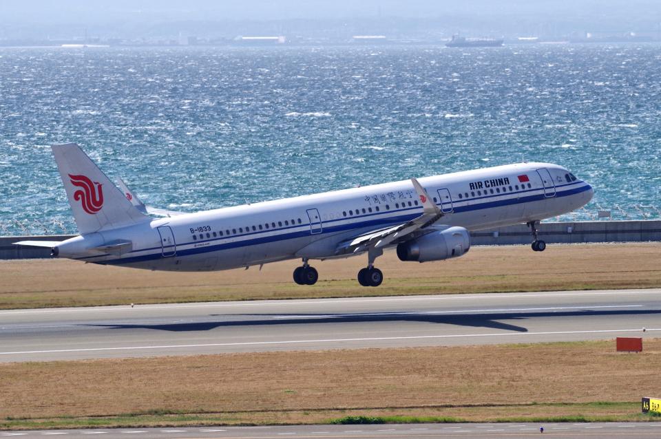 yabyanさんの中国国際航空 Airbus A321 (B-1833) 航空フォト