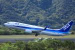 kando-yamaさんが、八丈島空港で撮影した全日空 737-881の航空フォト(写真)