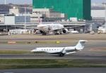 ハム太郎。さんが、羽田空港で撮影したアメリカ個人所有 G650 (G-VI)の航空フォト(写真)