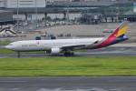 turenoアカクロさんが、羽田空港で撮影したアシアナ航空 A330-323Xの航空フォト(写真)