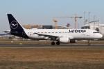 BTYUTAさんが、フランクフルト国際空港で撮影したルフトハンザドイツ航空 A320-214の航空フォト(写真)