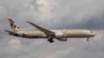 くろまるさんが、成田国際空港で撮影したエティハド航空 787-9の航空フォト(写真)