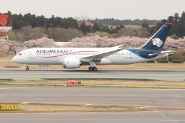 OMAさんが、成田国際空港で撮影したアエロメヒコ航空 787-8 Dreamlinerの航空フォト(写真)