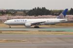OMAさんが、成田国際空港で撮影したユナイテッド航空 777-222/ERの航空フォト(写真)