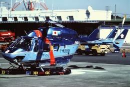 tassさんが、成田国際空港で撮影した千葉県警察 BK117C-1の航空フォト(飛行機 写真・画像)