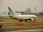 アイスコーヒーさんが、成田国際空港で撮影したエアプサン 737-48Eの航空フォト(飛行機 写真・画像)