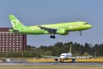 パンダさんが、成田国際空港で撮影したS7航空 A320-214の航空フォト(写真)