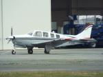 otromarkさんが、八尾空港で撮影したノエビア A36 Bonanza 36の航空フォト(写真)