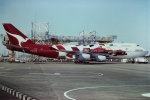 tassさんが、成田国際空港で撮影したカンタス航空 747-438の航空フォト(飛行機 写真・画像)