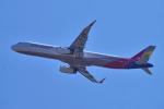 yabyanさんが、成田国際空港で撮影したアシアナ航空 A321-231の航空フォト(写真)
