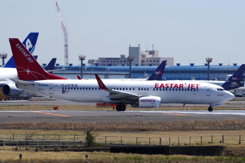 yabyanさんのイースター航空 Boeing 737-800 (HL8052) 航空フォト
