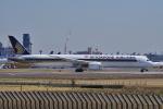 yabyanさんが、成田国際空港で撮影したシンガポール航空 787-10の航空フォト(飛行機 写真・画像)