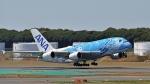 flytaka78さんが、成田国際空港で撮影した全日空 A380-841の航空フォト(写真)