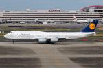 KAMIYA JASDFさんが、羽田空港で撮影したルフトハンザドイツ航空 747-830の航空フォト(写真)
