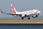 安芸あすかさんが、シドニー国際空港で撮影したヴァージン・オーストラリア 737-7FEの航空フォト(写真)