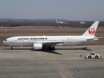 Contrail-51Aさんが、新千歳空港で撮影した日本航空 777-289の航空フォト(写真)