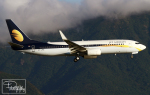 dave_0402さんが、香港国際空港で撮影したジェットエアウェイズ 737-8ALの航空フォト(写真)