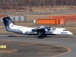 Contrail-51Aさんが、新千歳空港で撮影したオーロラ DHC-8-315Q Dash 8の航空フォト(写真)