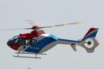 Wasawasa-isaoさんが、福岡空港で撮影した毎日新聞社 EC135T1の航空フォト(写真)