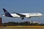あしゅーさんが、成田国際空港で撮影したルフトハンザ・カーゴ 777-FBTの航空フォト(写真)