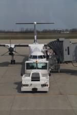 トリトンブルーSHIROさんが、新潟空港で撮影したANAウイングス DHC-8-402Q Dash 8の航空フォト(写真)