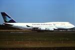 tassさんが、成田国際空港で撮影したガルーダ・インドネシア航空 747-4U3の航空フォト(飛行機 写真・画像)