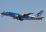 ✈︎Love♡ANA✈︎さんが、関西国際空港で撮影した全日空 A380-841の航空フォト(写真)