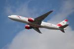 OMAさんが、成田国際空港で撮影したオーストリア航空 777-2B8/ERの航空フォト(写真)