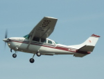 otromarkさんが、八尾空港で撮影した朝日航空 TU206G Turbo Stationair 6の航空フォト(写真)