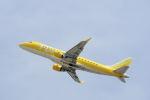 どんちんさんが、名古屋飛行場で撮影したフジドリームエアラインズ ERJ-170-200 (ERJ-175STD)の航空フォト(写真)