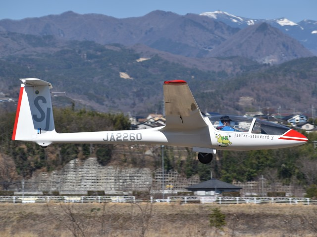 とびたさんが、韮崎滑空場で撮影した韮崎市航空協会 SZD-48-1 Jantar Standard 2の航空フォト(飛行機 写真・画像)